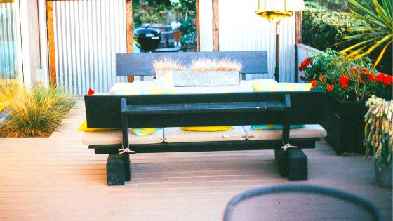 Unterkonstruktion von WPC Terrassen